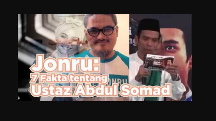 Jonru Beberkan 7 Fakta tentang Ustadz Abdul Somad yang Luruskan Pemahaman Rina Nose pada Publik