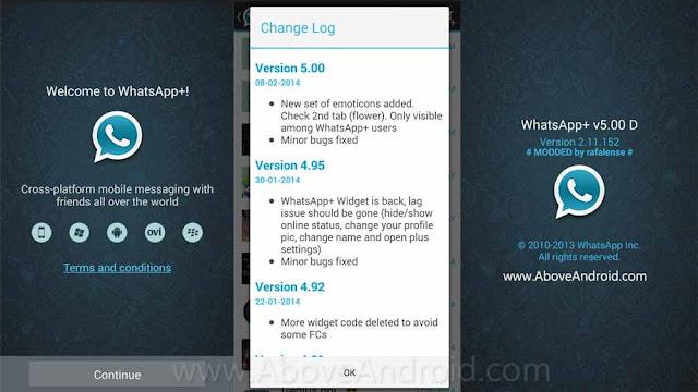 تحميل برنامج واتس الازرق Whatsapp whatsapp-plus-v5.00d