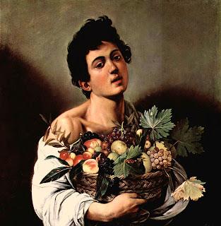 Caravaggio, Muchacho con cesto de frutas