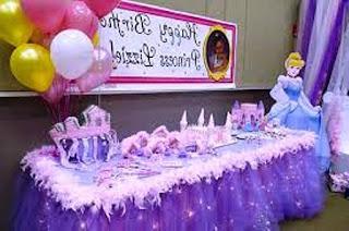 Dekorasi Ulang Tahun Anak Perempuan Tema Princess 10