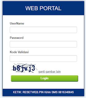 Web Portal Web Report KhPulsa Armaila