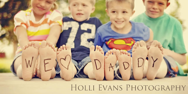 diy fathers day photo