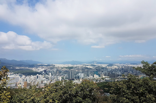 Seoul View from Namsan Seoul Tower (남산서울타워)
