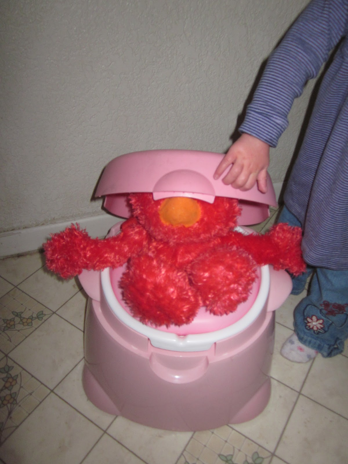 the potty chronicles  elmo style