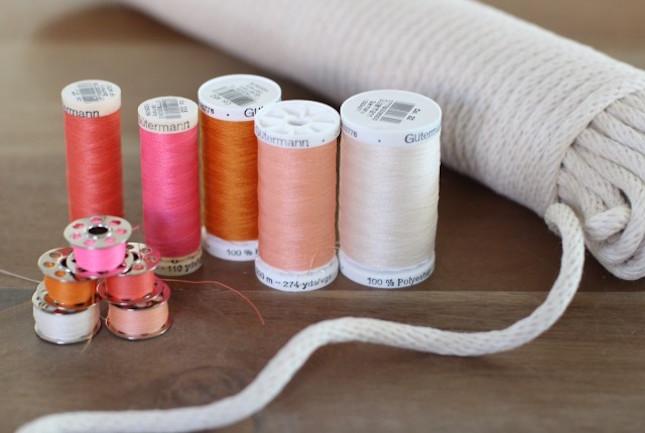 materiales para hacer una cesta de cuerda diy