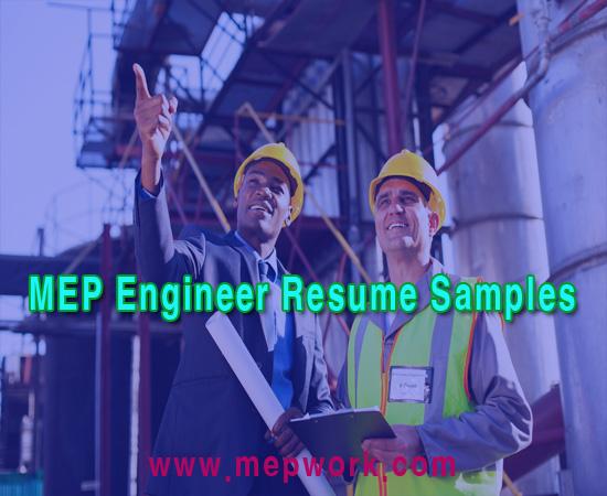 Download Top MEP Engineer Resume Samples PDF - CV Examples