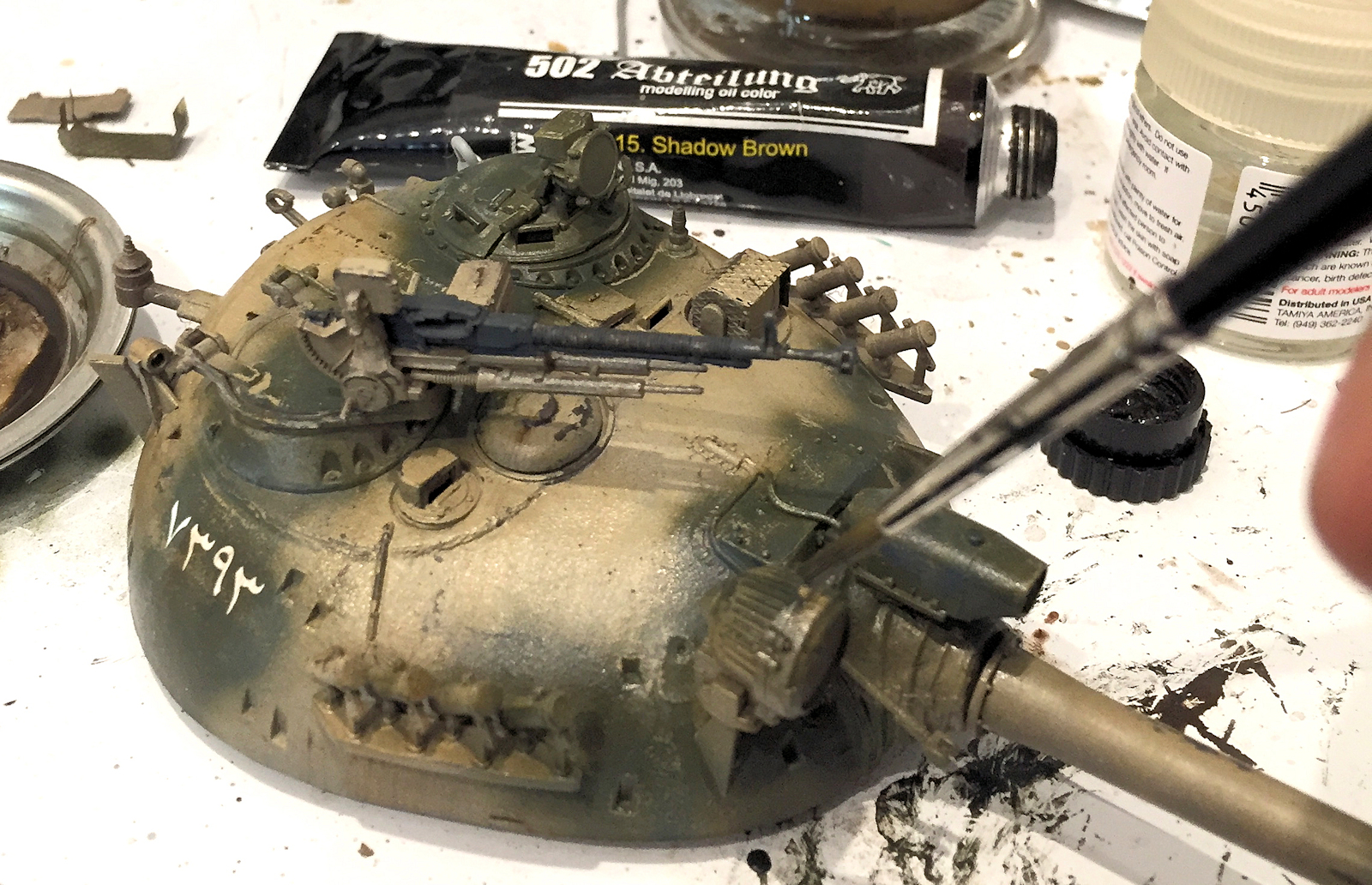 The Modelling News: Painting & Weathering Takom's 35th scale Type ...