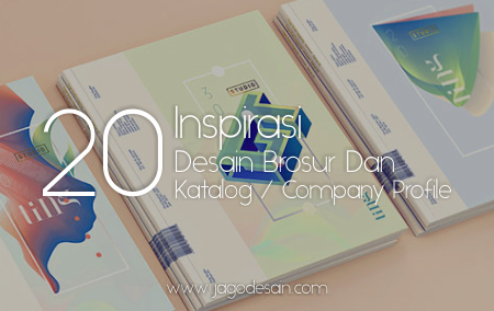 Inspirasi 20+ Desain Brosur Dan Katalog Atau Company Profile Modern Untuk Desain Grafis