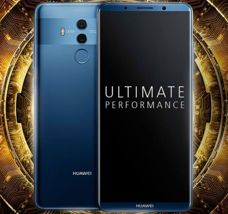 Huawei Mate 10 Series Now Has Face Unlock Technology