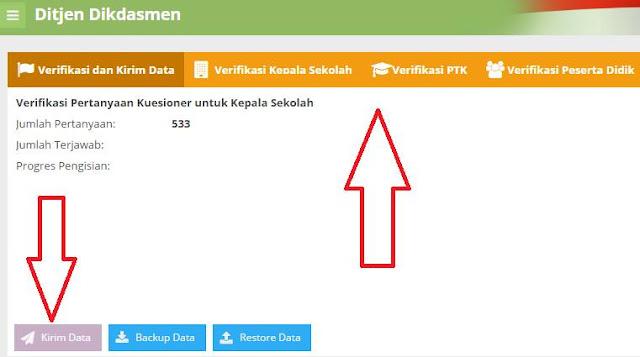 gambar cara kirim data aplikasi PMP ditjen Dikdasmen