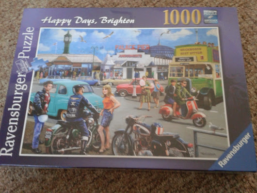 Ravensburger Puzzle Review - Happy Days, Brighton!