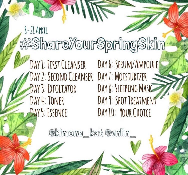 CABARAN #SHAREYOURSPRINGSKIN | DAY 4: TONER