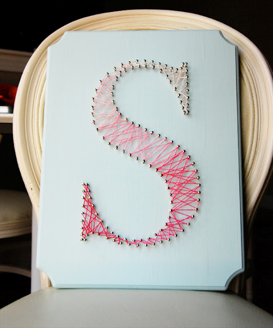 String Art Letters On Pinterest String Art String Art