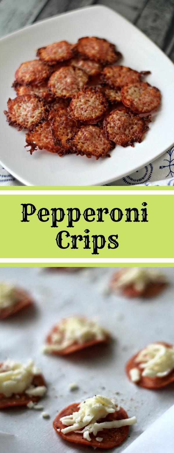 Pepperoni Crips #LOWCARB #KETORECIPES