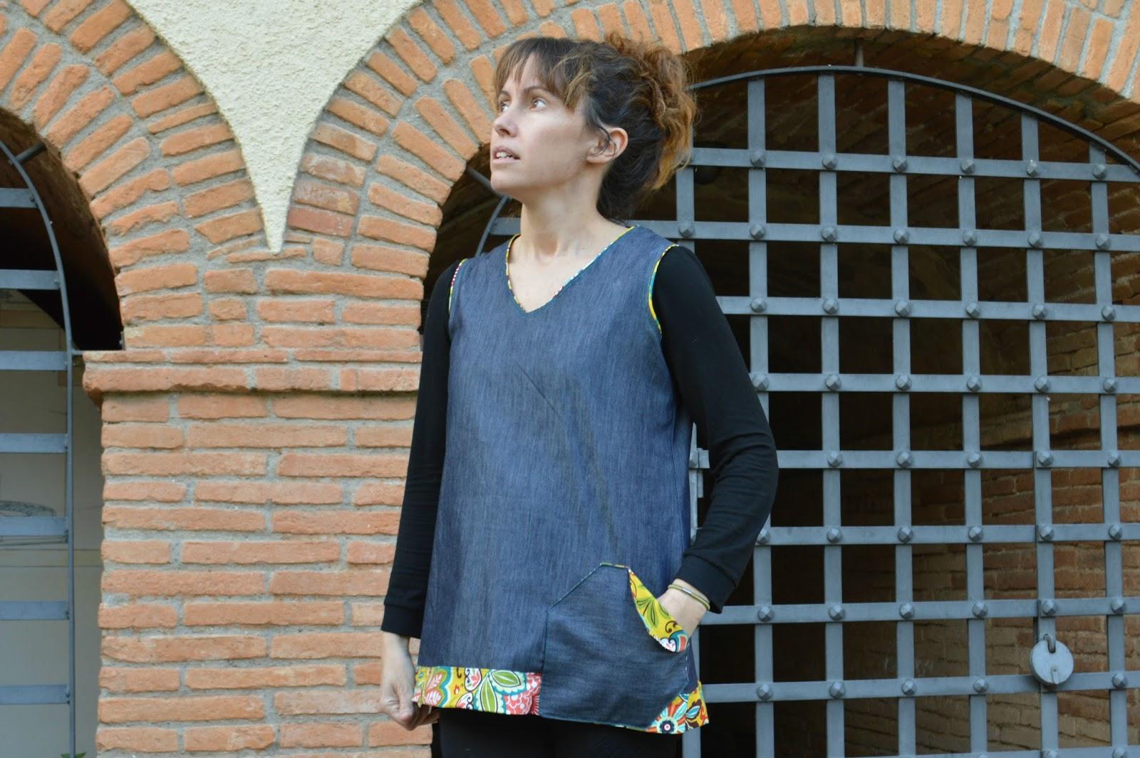 túnica mujer handmade uVe