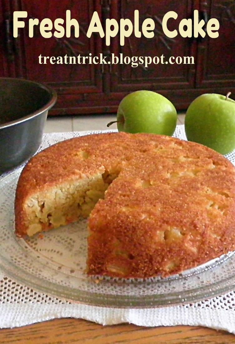 Treat trick fresh apple cake fresh apple cake recipe httptreatntrickspot forumfinder Choice Image