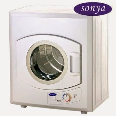 Sonya Apartment Size Stainless Steel Drum Portable Washer Dryer Combo.