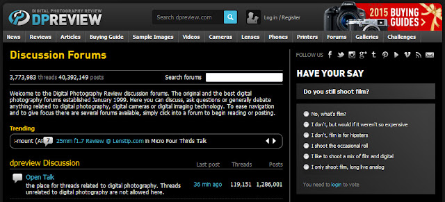 top 15 best photography forums dpreview