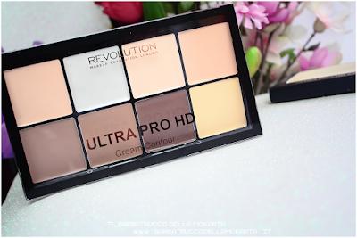 recensione ultra pro hd cream contour makeup revolution