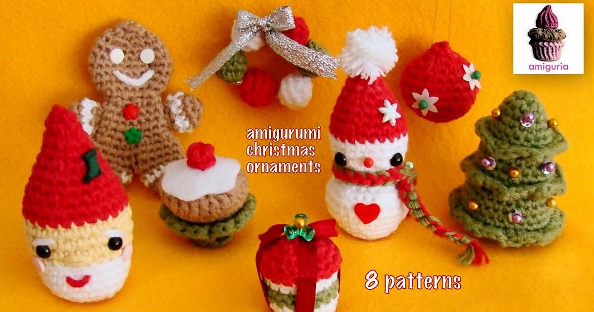 Amiguria Amigurumi 8 Amigurumi Christmas Patterns