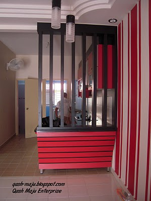 Divider antara ruang tamu dan ruang makan mana yang sesuai