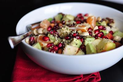 nourishing meals® morning winter fruit bowls with hemp