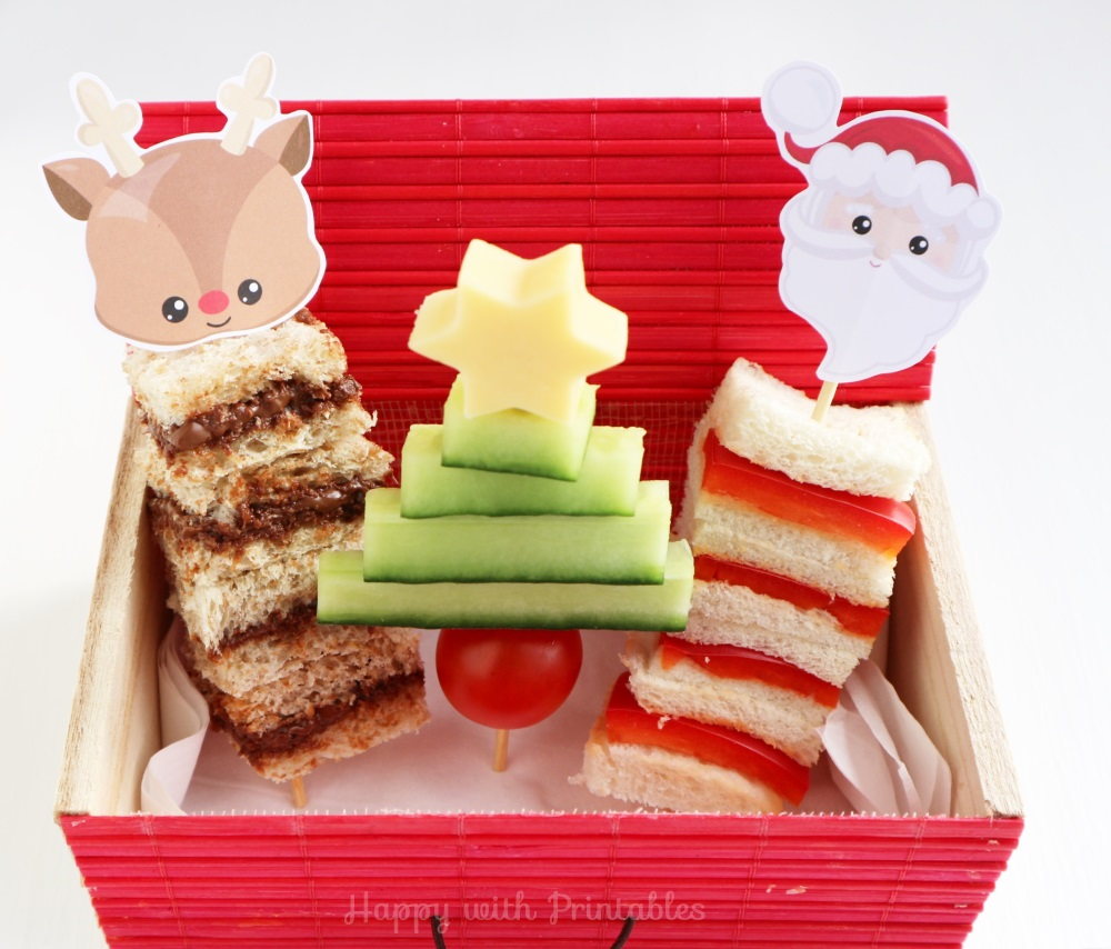 Happywithprintables 3 No Bake Christmas Treats For Kids With Free