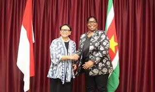 Indonesia-Suriname Perkuat Kemitraan Ekonomi