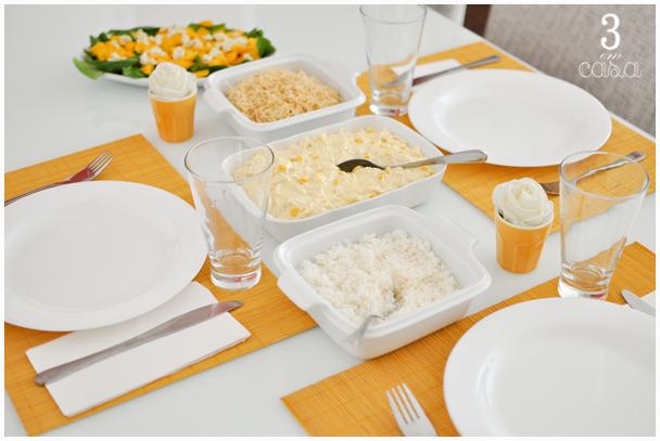 almoço de domingo simples