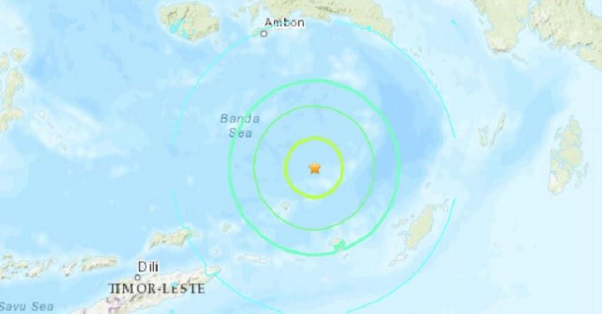 Terremoto en Indonesia de Magnitud 7.3 - Alerta de Tsunami (Hoy Domingo 23 Junio 2019) Sismo - Temblor - Epicentro - Saumlaki - USGS - www.earthquake.usgs.gov