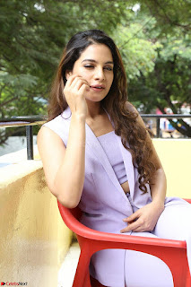 Tanya Hope in Crop top and Trousers Beautiful Pics at her Interview 13 7 2017 ~  Exclusive Celebrities Galleries 154.JPG