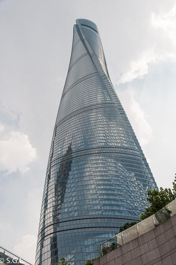 Shanghai tower. Segundo dia en Shanghai, ciudad de contrastes