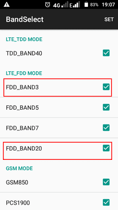 engineer mode bands