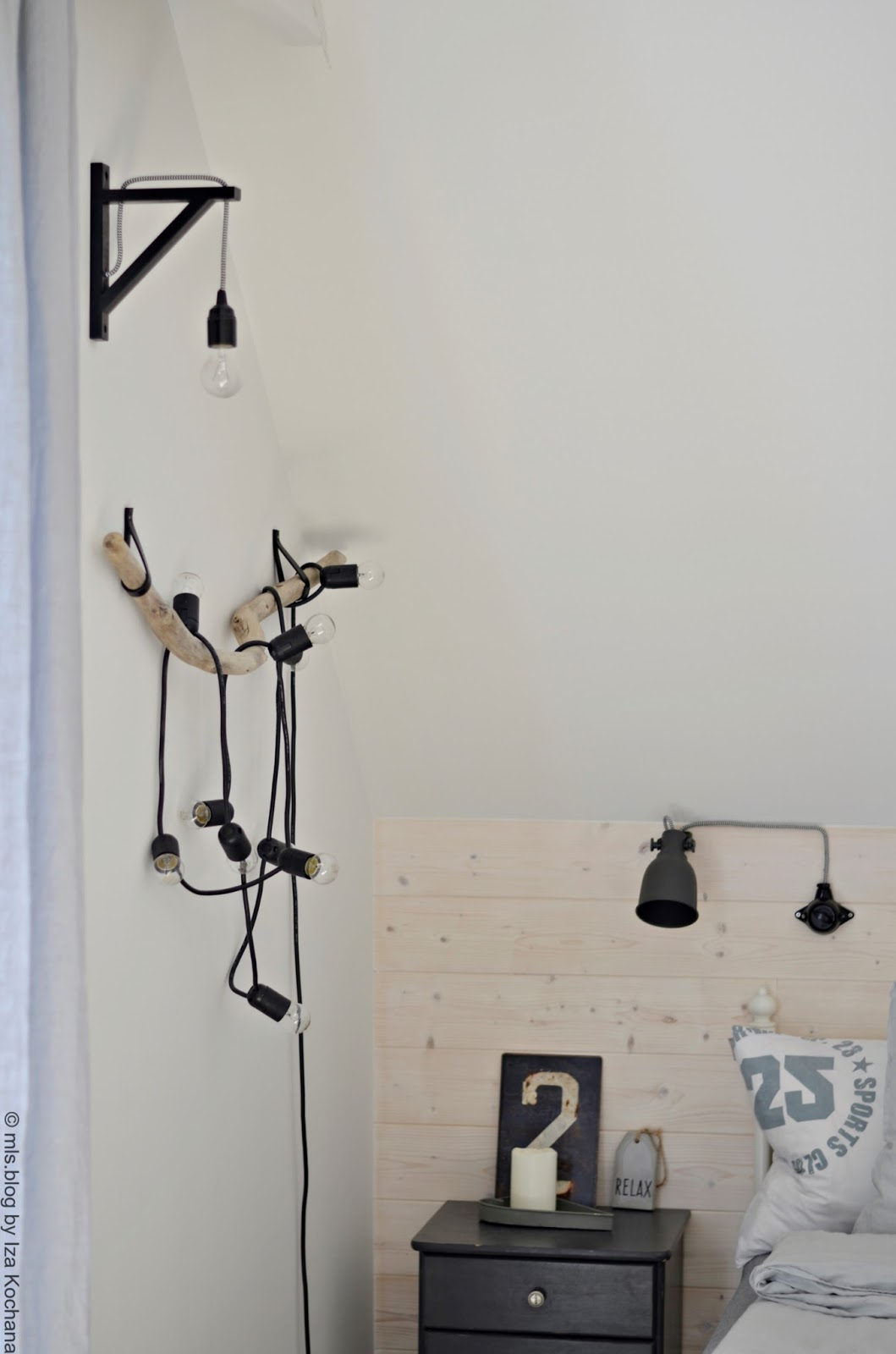 bulb garland DIY