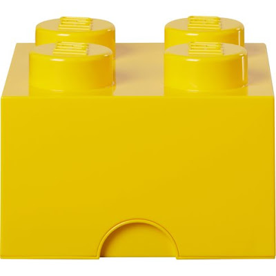 Yellow Lego Box Storage