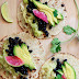 Veggie Tacos with Black Beans and Cabbage