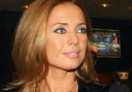 Zhanna Friske received an unexpected gift