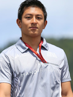 Rio Haryanto 88 Manor Racing Indonesian Driver