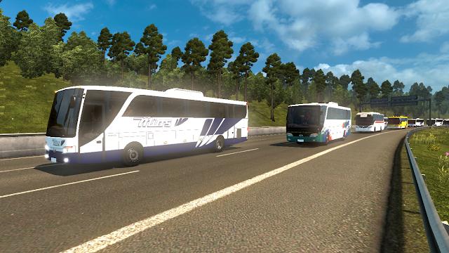 Download Mod Traffic Parahyangan v2 ETS2