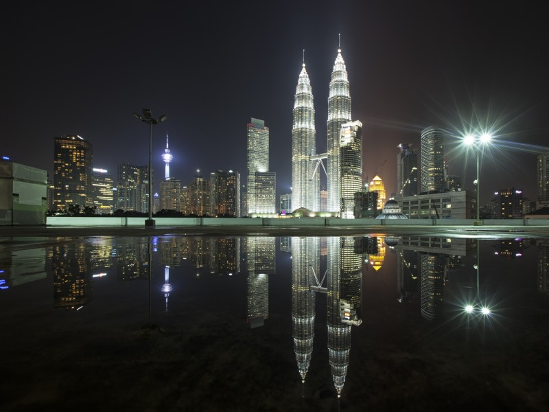 Download Skyscraper Reflection at Malaysia HD wallpaper. Click Visit page Button for More Images.