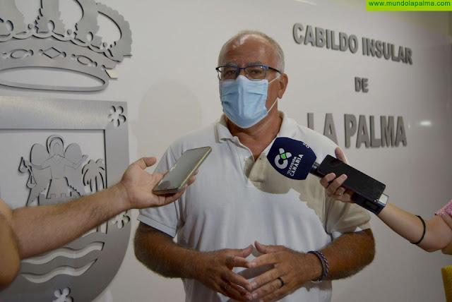 Los pozos de El Roque y de El Carmen aportan 1.400 pipas por hora al sistema hidráulico insular