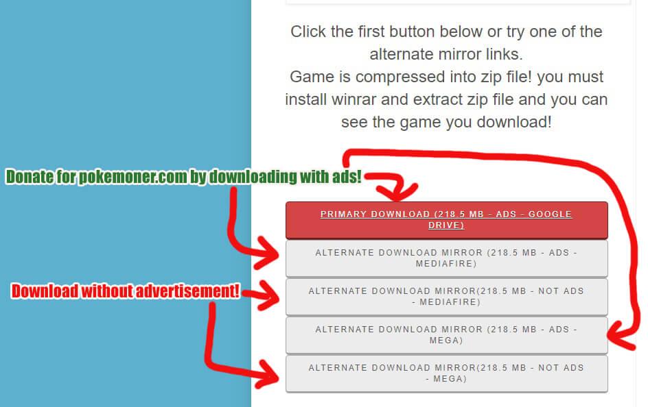 How to Download! - Pokemoner com