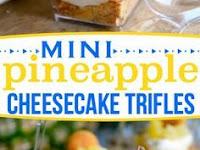 Mini Pineapple Cheesecake Trifle