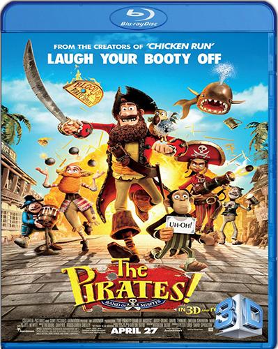 The Pirates! Band of Misfits [2012] [BD50] [3D] [Latino]
