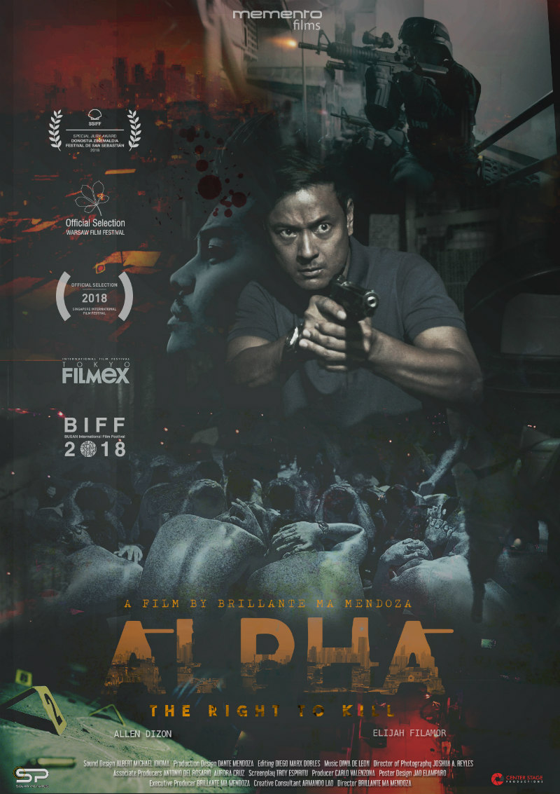 alpha: the right to kill poster