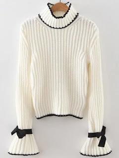 http://es.shein.com/White-Turtle-Neck-Bow-Embellished-Bell-Sleeve-Sweater-p-313501-cat-1734.html?utm_source=mivida-enblog.blogspot.com.es&utm_medium=blogger&url_from=mivida-enblog&ref=www&rep=dir&ret=es