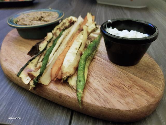 Grilled Crudites - RM15.80