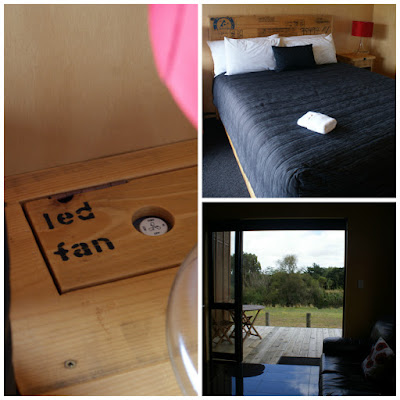 Te Aroha Landing Accommodation Review - River View Chalet New Zealand North Island