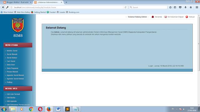 1 - Sistem Informasi Administrasi Surat Berbasis Web