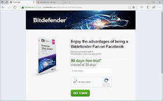 Bitdefender Total Security 2018 license